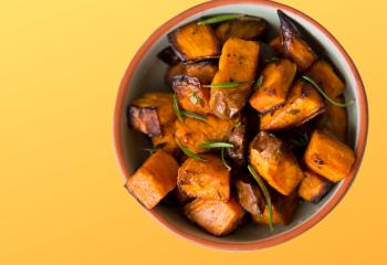 1 lb. Oven Roasted Sweet Potatoes