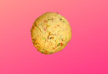 Happy Birthday Protein Cookies