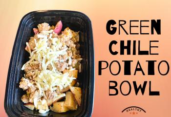 Green Chile Potato Bowl